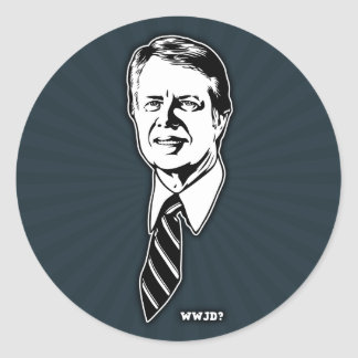 What Would Jimmy Do? Classic Round Sticker