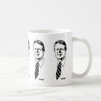 What Would Jimmy Do? Classic White Coffee Mug