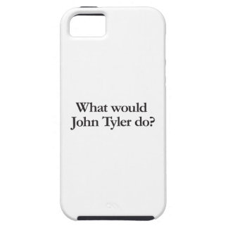 what would john tyler do iPhone SE/5/5s case