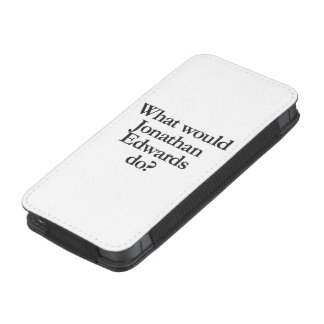 what would jonathan edwards do iPhone 5 pouch