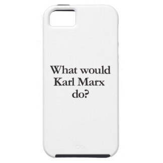 what would karl marx do iPhone SE/5/5s case