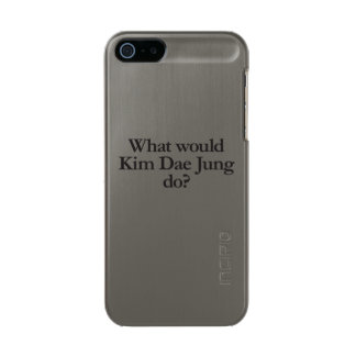 what would kim dae jung do metallic phone case for iPhone SE/5/5s