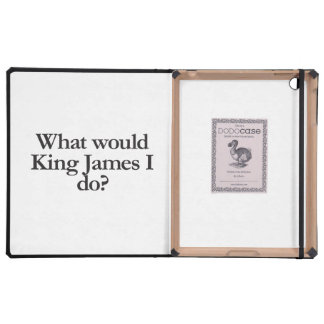 what would king james I do iPad Covers
