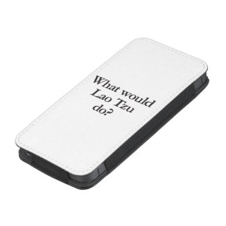 what would lao tzu do iPhone 5 pouch