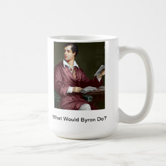 What Would Lord Byron Do? WWBD Coffee Mug