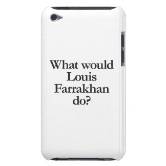 what would louis farrakhan do iPod touch covers