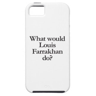 what would louis farrakhan do iPhone 5 covers