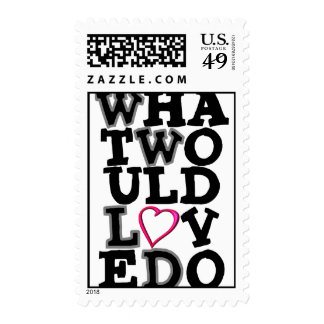 What Would Love Do Postage