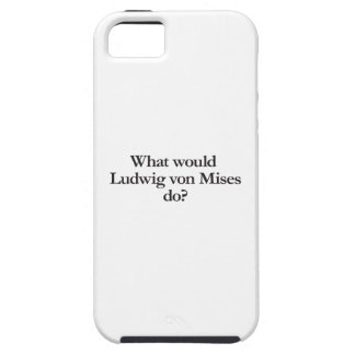 what would ludwig von mises do iPhone 5 case