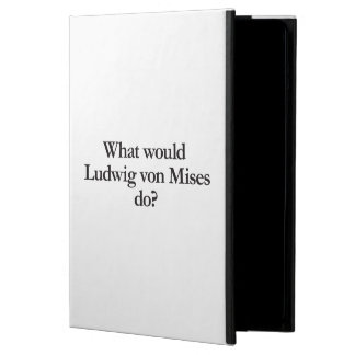 what would ludwig von mises do iPad air cases