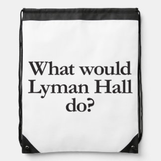 what would lyman hall do cinch bag
