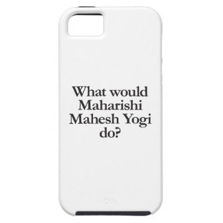 what would maharishi mahesh yogi do iPhone SE/5/5s case