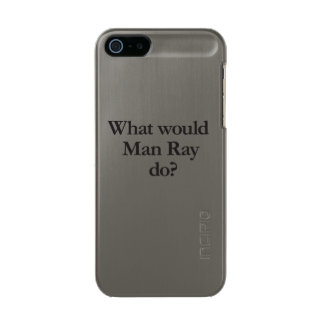 what would man ray do metallic iPhone SE/5/5s case