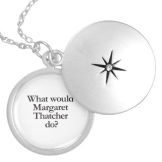 what would margaret thatcher do pendant