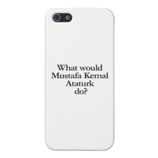 what would mustafa kemal ataturk do iPhone 5/5S covers