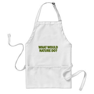 What Would Nature Do? Adult Apron