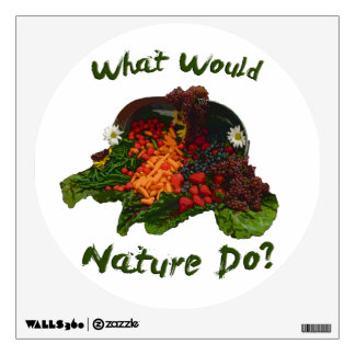 What Would Nature Do Wall Decal
