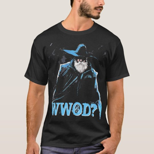 What Would Odin Do? WWOD? black tee shirt