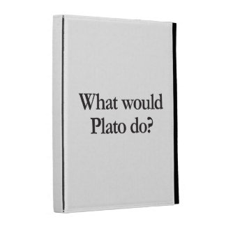 what would plato do iPad folio covers