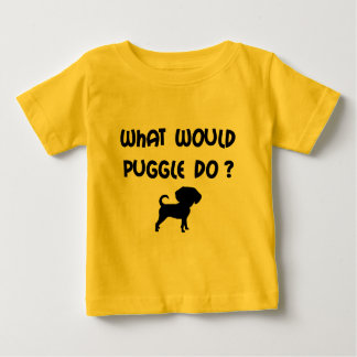 What Would Puggle Do? Baby T-Shirt