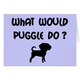 What Would Puggle Do? Card