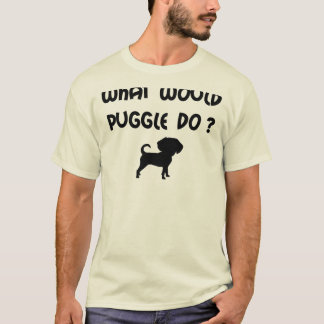 What Would Puggle Do? T-Shirt