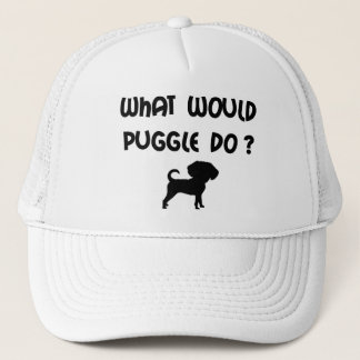 What Would Puggle Do? Trucker Hat