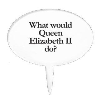 what would queen elizabeth II do Cake Pick