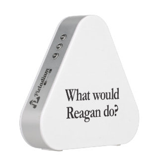what would reagan do speaker