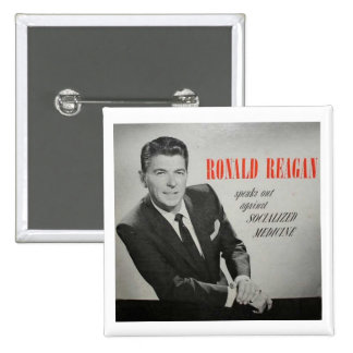 What would Reagan do? Pins