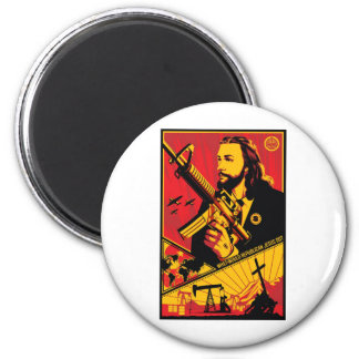 What Would Republican Jesus Do? 2 Inch Round Magnet