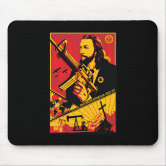 What Would Republican Jesus Do? Mousepad