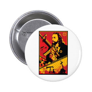 What Would Republican Jesus Do? Pinback Buttons