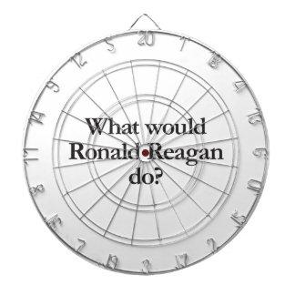 what would ronald reagan do dartboard