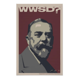 What Would Sargent Do? 30x20 poster