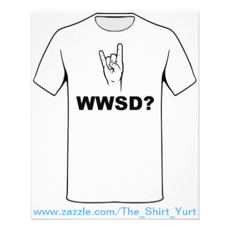 What Would Satan Do?  WWSD? Flyer