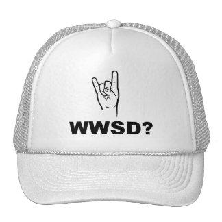 What Would Satan Do?  WWSD? Trucker Hat
