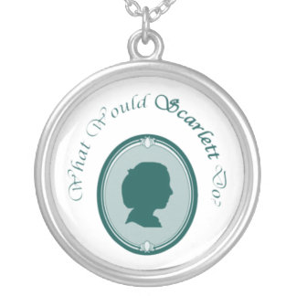 What Would Scarlett Do? Necklace