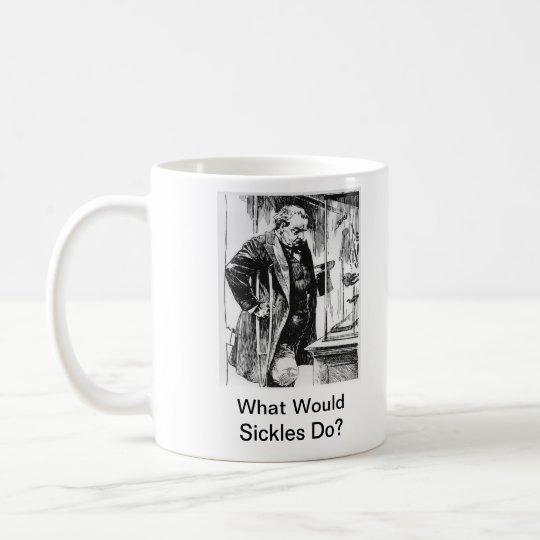 What Would Sickles Do? Civil War anniversary mug