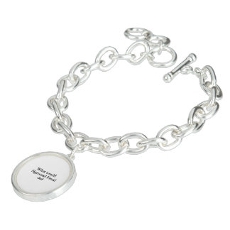 what would sigmund frued do charm bracelet
