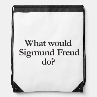 what would sigmund frued do cinch bags