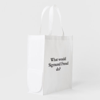 what would sigmund frued do reusable grocery bag