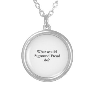 what would sigmund frued do round pendant necklace