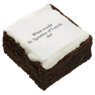 what would st ignatius of loyola do square brownie