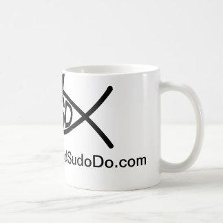What would sudo do? classic white coffee mug