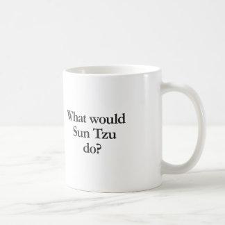 what would sun tzu do coffee mug