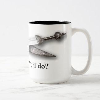 What would Tarl do? Two-Tone Coffee Mug