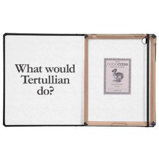 what would terullian do iPad folio case