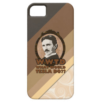 What Would Tesla Do  iPhone Case