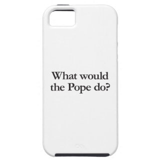 what would the pope do iPhone SE/5/5s case